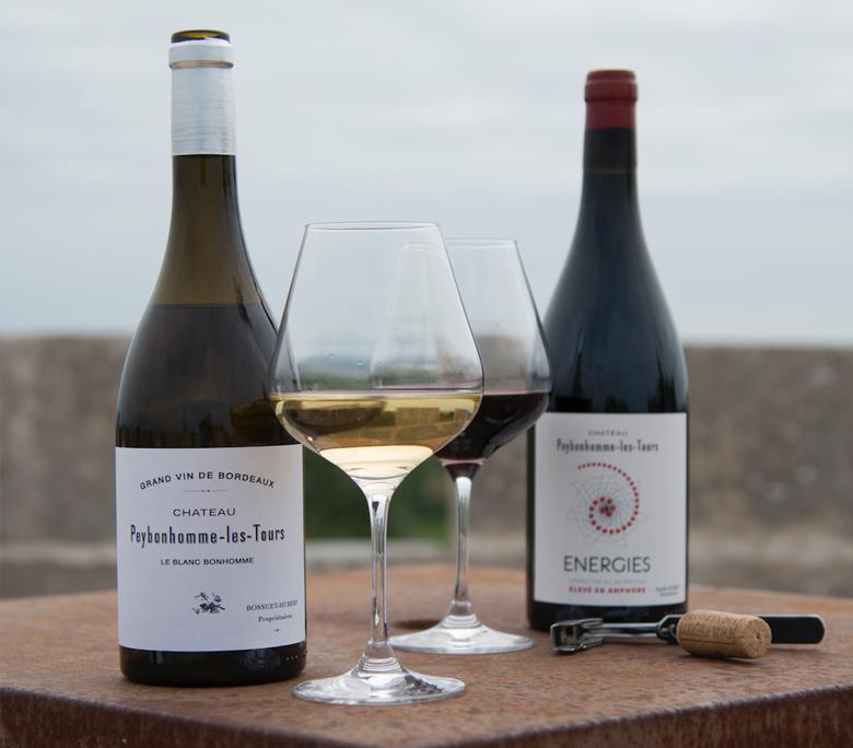 Cuvées vignobles hubert blaye, vins biodynamiques bordeaux